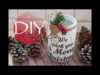 Новогодний DIY, легко и красиво / DIY Christmas Автор Tsvoric