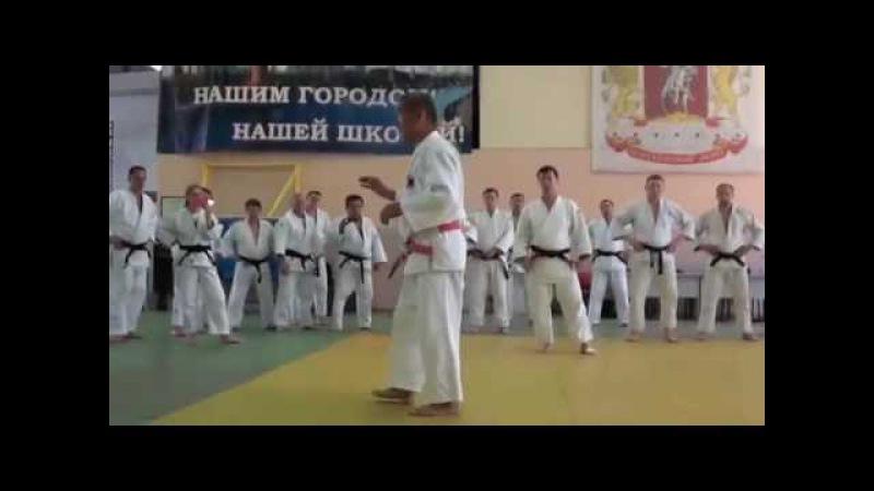 Мастер-класс по дзюдо 19.06.2016 (Москва)