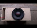 Kicx PRO power 381D  в 2 ома от  Machete M1500