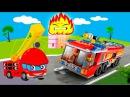 Мультики про машинки все серии подряд Пожарные машины в видео для детей. Сборник...