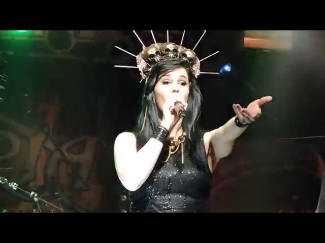 Xandria - Blood On My Hands Live @ Bochum Matrix 2016