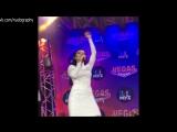 Ольга Серябкина (группа Серебро) - Партийная Зона Муз ТВ - Instagram, 02.10.2016
