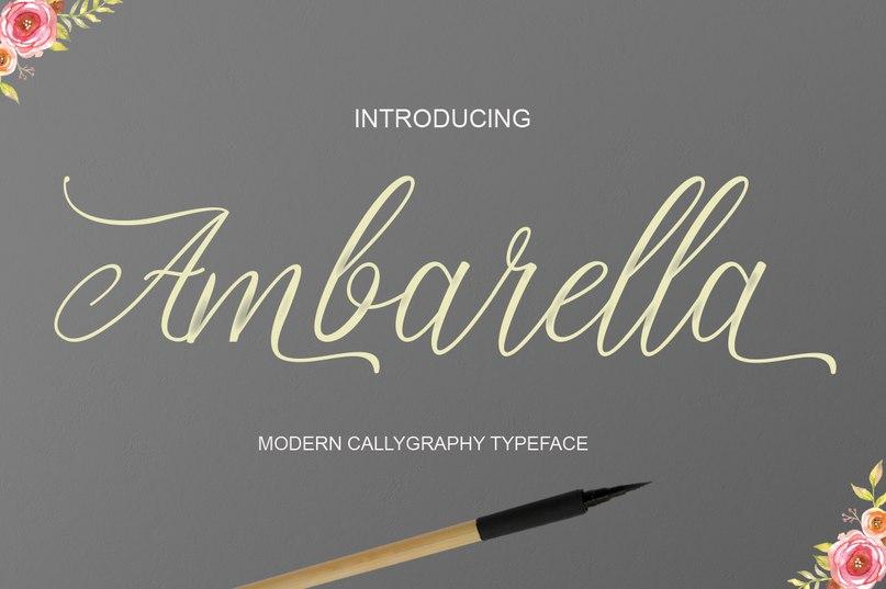 Ambarella шрифт скачать бесплатно