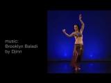 'Brooklyn Baladi' - Tribal belly dance choreography by Lady M - WorldDanceNewYor 394