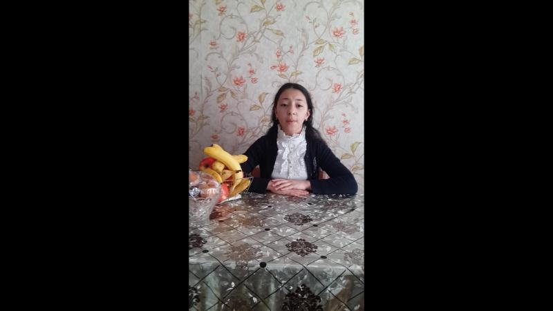 Лиана Кулиева, 10 лет (г. Дербент) читает рассказ М. М. Зощенко «Бабушкин подарок»