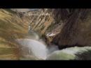 Водопад Йеллоустоун. Водопад с радугой.Не реально красиво🌊🌈Релакс видео.