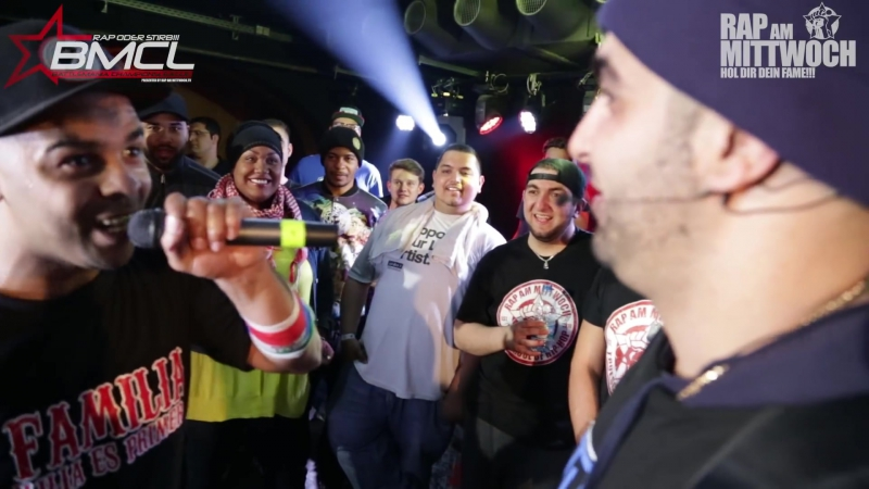 BMCL RAP BATTLE׃ TIERSTAR VS DIZASTER ¦ powered by audio-technica (BATTLEMANIA CHAMPIONSLEAGUE)