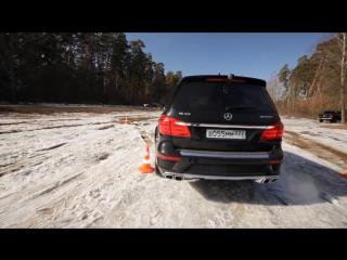 Тест-драйв Mercedes GL 63 AMG в программе 'Разгон с Анастасией Трегубовой'_HD