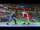 РИО-2016 86 кг 1_2 финала Селим Яшар (Турция) - Джей Кокс (США)