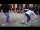 15 летняя девочка делает всех в стритбол