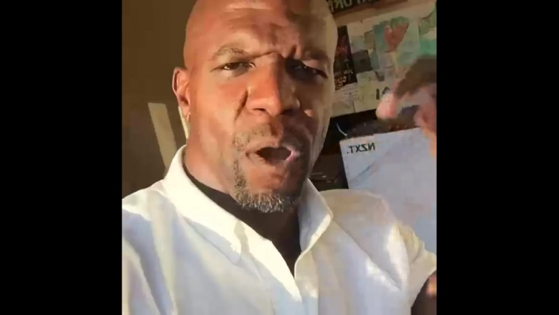 Terry Crews se juntando aos Master Racers!
