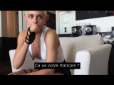 Gala Reporter - Kristen studies her French with Vincent Cassel