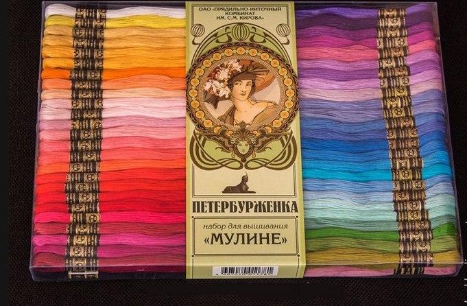 ПНК, какие нитки для вышивки лучше
