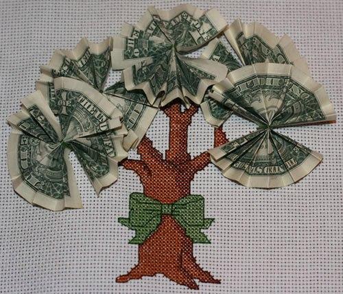 денежное дерево крестиком схема