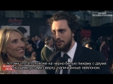 Avengers Age of Ultron Premiere - Aaron Taylor-Johnson Interview Rus Sub