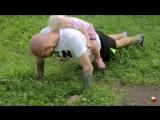 Тренировка для папы с ребенком #2- Воркаут в парке. Workout for dad with child #2- Park Training