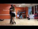Daniel Marinho and Lucia Nikitasenko, intermediate, steps