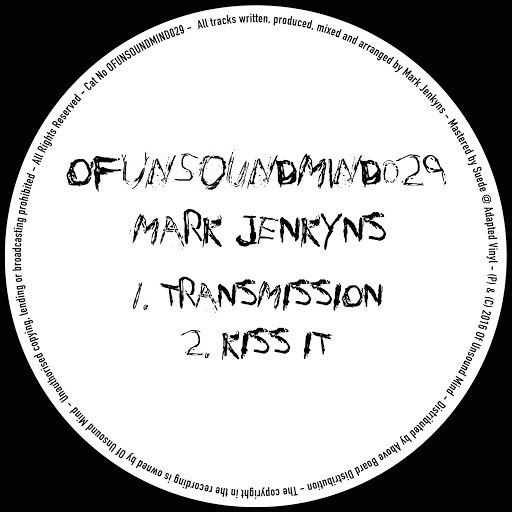 Mark Jenkyns альбом OFUNSOUNDMIND029
