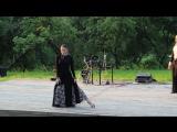 Как это было. Пасодобль - танец страсти во Флёново 2012 на Ивана Купала. Влад и Василина Ю2