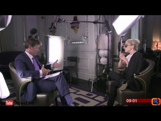 Lady Gaga Interview - BBC Breakfast 2016 October 21