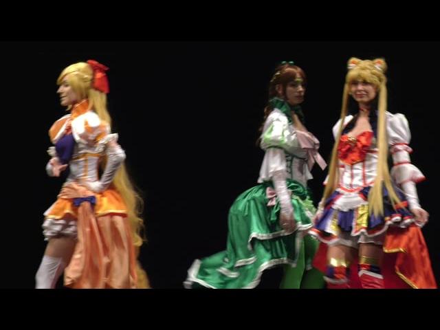 M.Ani.Fest 2017 - Групповое Original дефиле - Yoh, Okun Ren, Joy~Fox, HakuZond - Sailor Moon Burlesk art NoFlutte