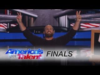 Jon Dorenbos: NFL Magician Pulls Off Inspirational Trick - America's Got Talent 2016