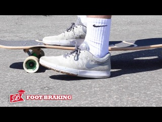 Longboarding 101 - How to Stop Foot Breaking, Advanced Carving, Coleman Slide