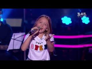 Голос Дети Украина - Ева АШ, Тали Купер, Варвара Кошевая - Маленькая девочка