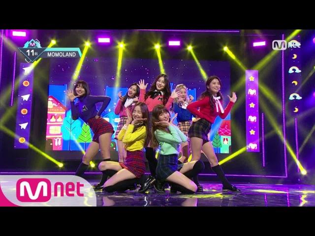 [MOMOLAND - JJan! Koong! Kwang!] KPOP TV Show | M COUNTDOWN 161215 EP.503