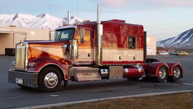 Custom Kenworth W 900