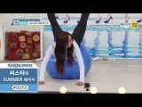 Hyorin & Bora sexy silhuette training 160624 (효린 & 보라 섹시 한 실루엣 교육)