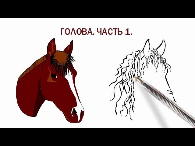 Амигуруми Лошадка зебра единорог Голова Часть1