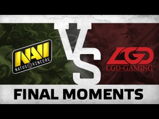 WATCH FIRST: Final Moments by Na`Vi vs LGD @ The International 6