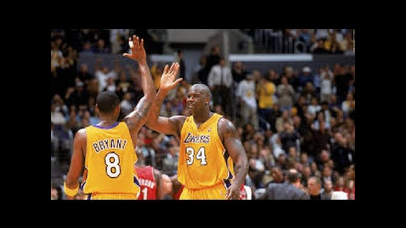 NBA WCF 2000 Blazers @ Lakers Game 7 HD Full game HD, 720p