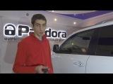 Установка сигнализации Pandora 3910 на Land Cruiser 200 Тольятти