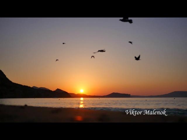 Море. Шум волн. Рассвет. Восход солнца. Морской бриз. Прибой. Утро. Релакс. Новый с ...