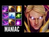 Epic Pro Invoker SunStrike Combo with Refresher by SumiYa Crazy MMR 7.00 Gameplay Dota 2