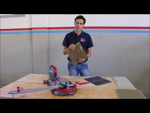 Montolit Masterpiuma Tile Cutter Full Demo