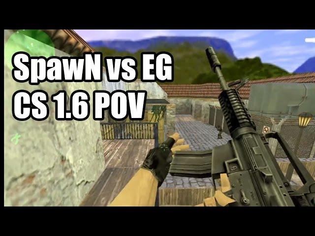 POV: SpawN vs. Evil Geniuses @KODE5 SK CS 1.6 Demo