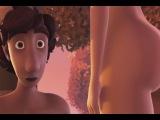 Красивый мультфильм для взрослых! Эдем! Шокирующие кадры! Beautiful cartoon for adults! Eden!