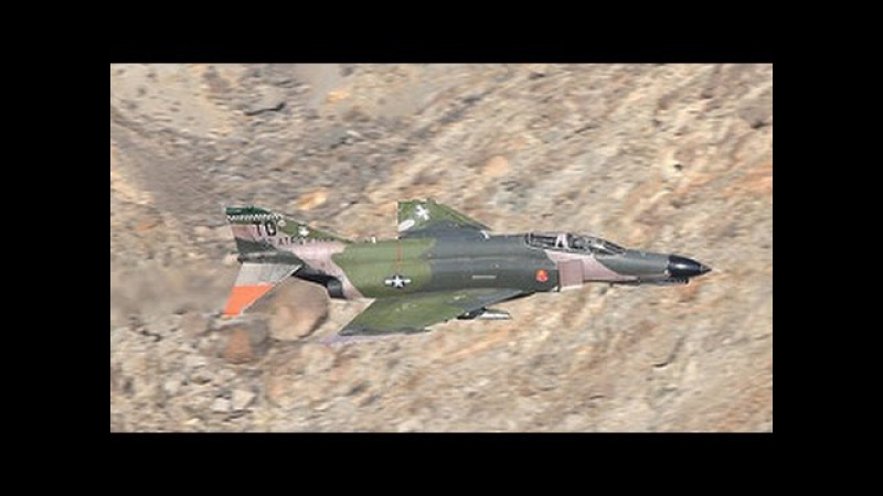 The Phantom Transition - F-4 Phantoms In Star Wars Canyon [4K]