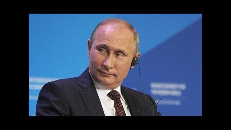 06,2016 Путин задал вопрос послу США в прмом эфире. Американец не на шутку растерялся