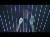 Laser Harp - Gary Numan  Avicii Mix (Practice Session)
