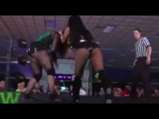 Mandy Leon Vs Samantha Starr, Female Wrestling Title Squash Match