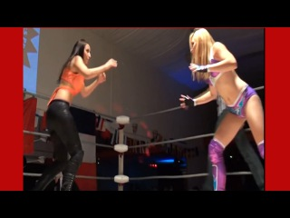 Eva Summers Beats Down Pauline Female Wrestling Domination