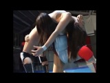 Japanese Female Wrestling Beat Down