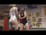 Lisa Wins: Lisa Fury vs Nikki, female wrestling domination