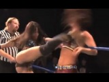 Hania The Huntress Vs Tessa Blanchard, Female Wrestling Squash Match