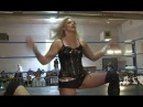 Jennifer Blake Vs Kimber Lee, Female Wrestling Squash Match