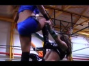 Cheerleader Melissa Vs Sarah Stock, Female Wrestling Squash Match